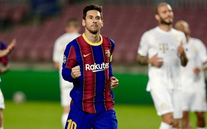 Messi khó lòng ở lại Barca sau mùa giải 2020-2021. Ảnh: Reuters.