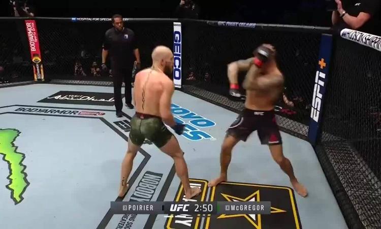 Poirier knock-out McGregor  2021