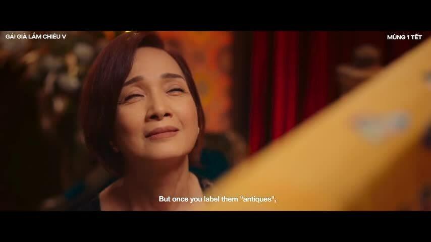 Trailer chính của Gái già lắm chiêu - Cuộc chiến chốn vương giả