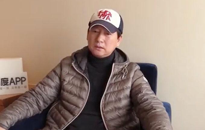Bố Trịnh Sảng xin lỗi khán giả và phân trần sự việc. Ảnh: Ifeng.