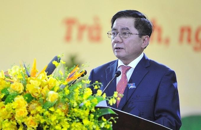 Ông Trần Cẩm Tú, Ủy viên Bộ Chính trị khóa XIII, Chủ nhiệm Ủy ban Kiểm tra Trung ương. Ảnh: PV