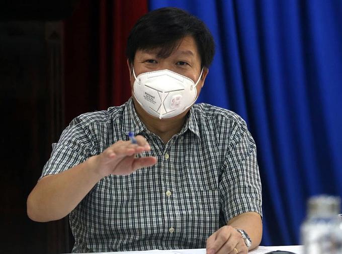 PGS Trần Như Dương. Ảnh: Lê Bảo